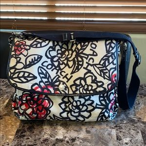 Coach Poppy Floral Graffiti Messenger